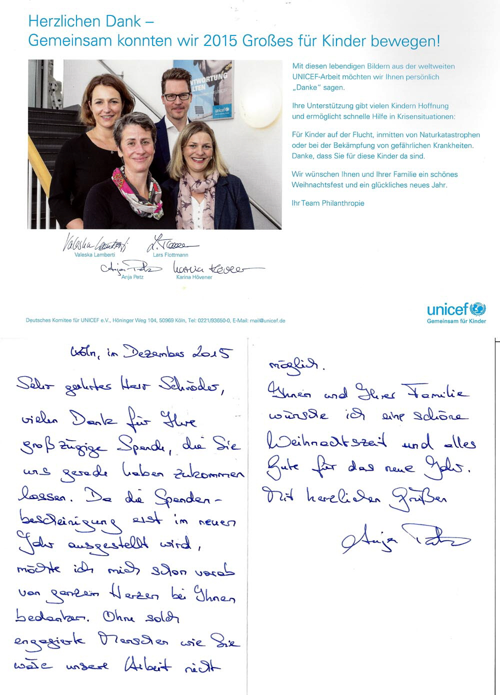 UNICEF-Spende-2015 Kopie
